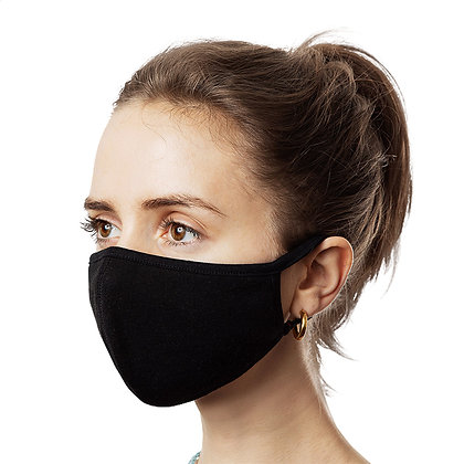 Face Mask (3-Pack) ALL BLACK