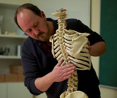 Christian Slot, skelet, undervisning