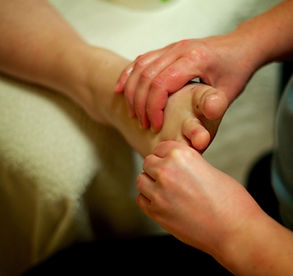 Behandling med Muskulær Zoneterapi - Muscular Reflexology