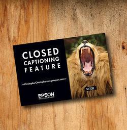 Epson Postcards