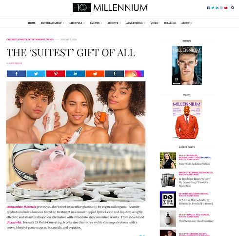 UltraVioletSkinCare_MillenniumMag_Press.