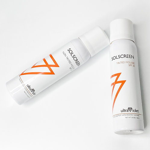 SOLSCREEN SPF 30 MOUSSE