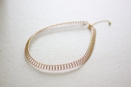 Golden Metal Choker (Curated)