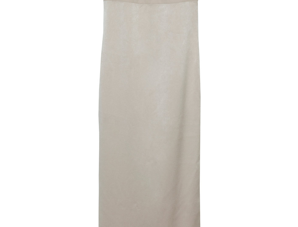 Nineties Greek Dress in Beige