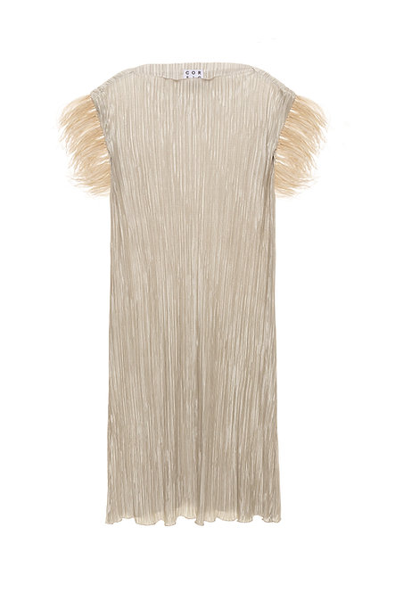 PREVIO Pleated Dress