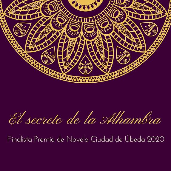 Morado y Dorado Mandala Mehendi Invitaci