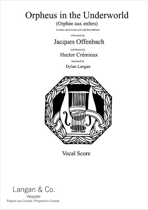 Orpheus in the Underworld (Vocal Score)