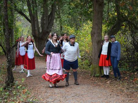 Hansel & Gretel Filming Footage