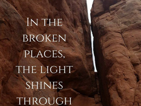 In the dark place, the light shines through