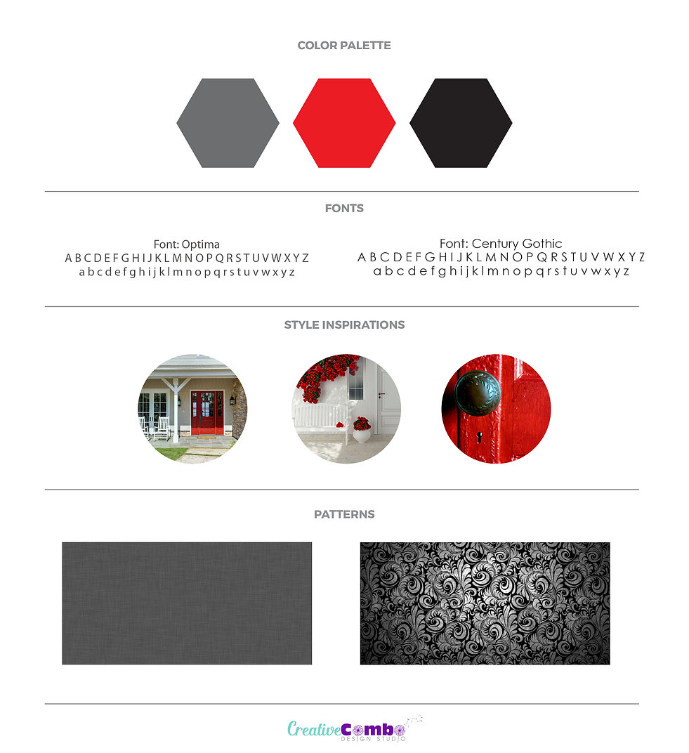 Kellaprince Properties Company Brand Design