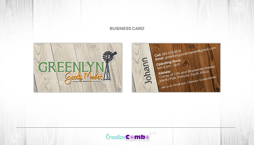 Greenlyn Goods Market Corporate Identity Design