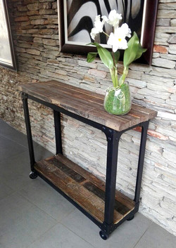 Wood/Steel Server