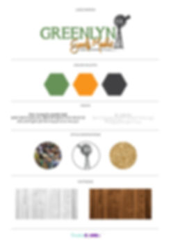 Greenlyn Goods Market Company Brand Design