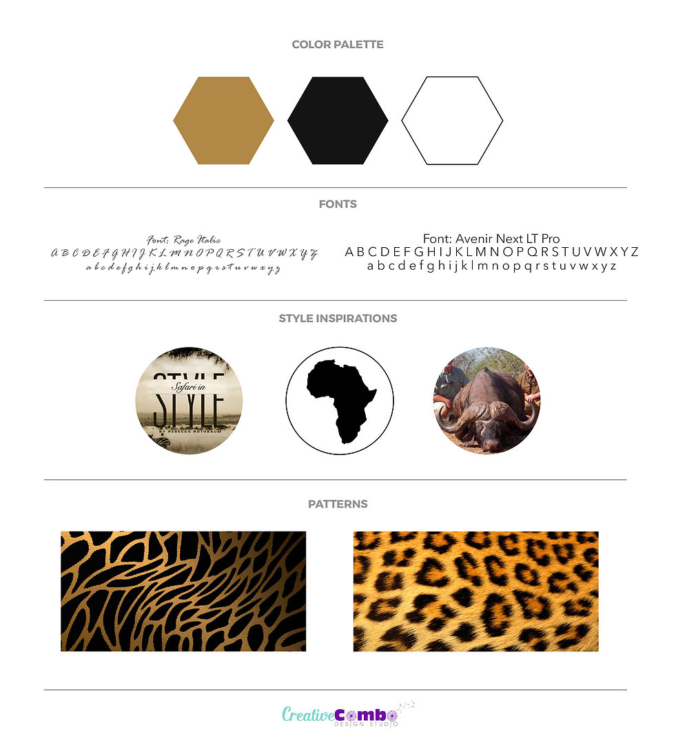 Graham Sales Safaris Company Brand Design