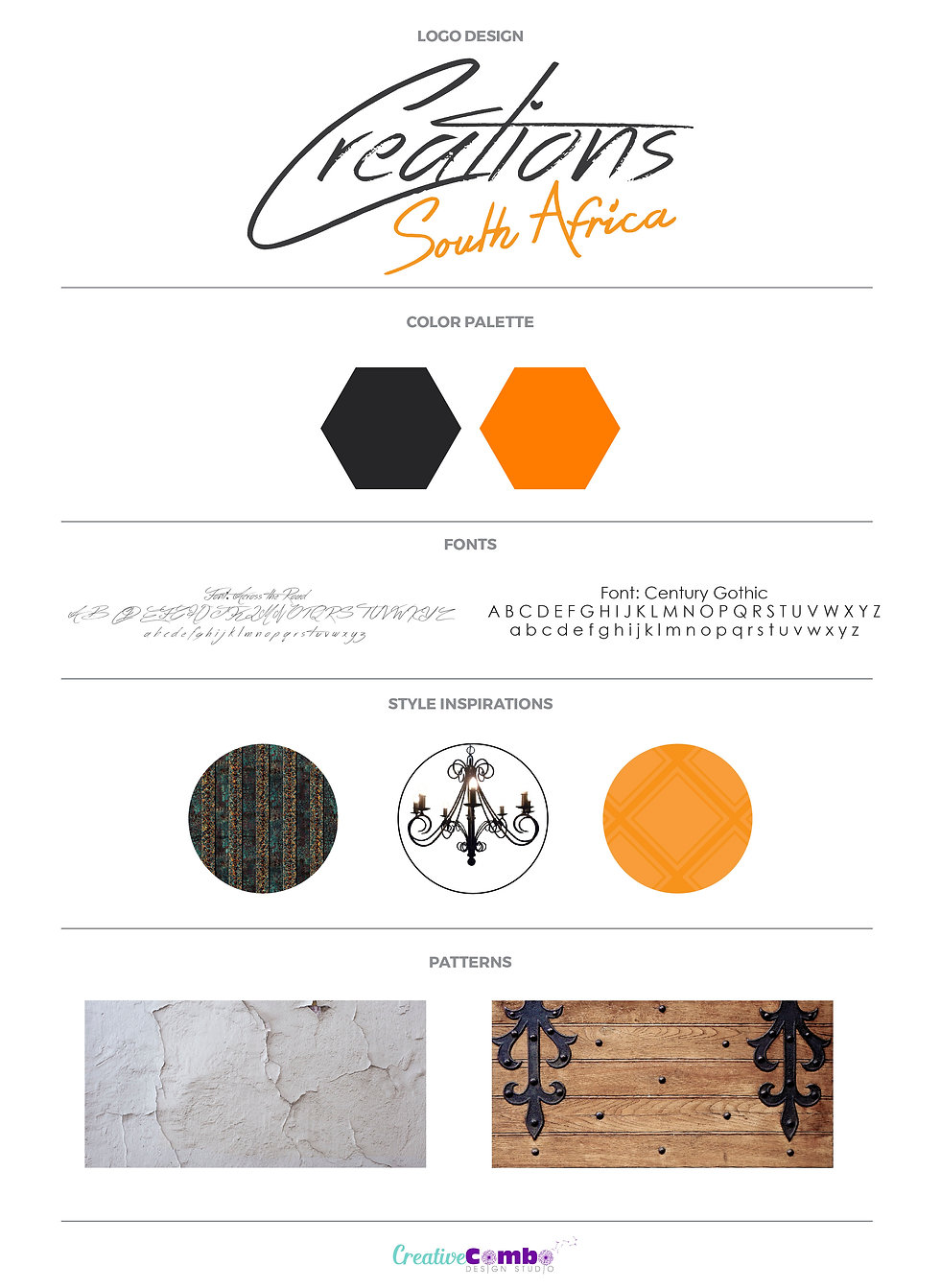 Creations South Africa Company Brand Design