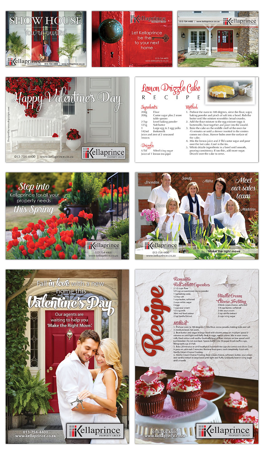 Kellaprince Properties Marketing Material Designs