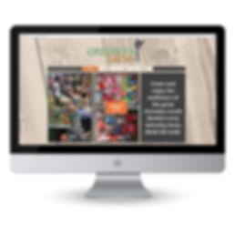 Greenlyn Goods Market Website Design