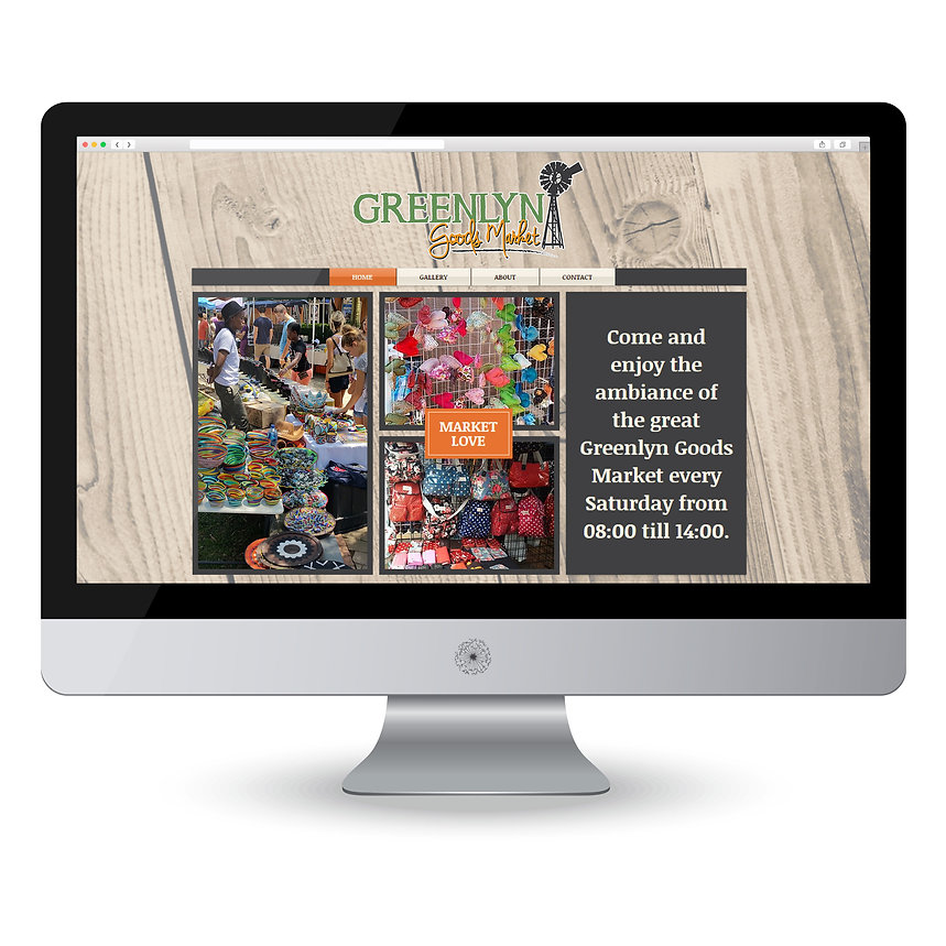 Greenlyn Goods Market Website Design