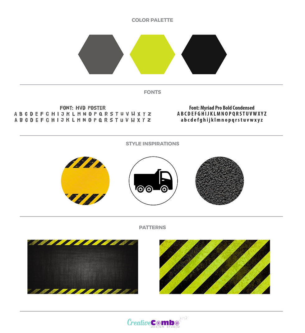 SP Surfacing Company Brand Design