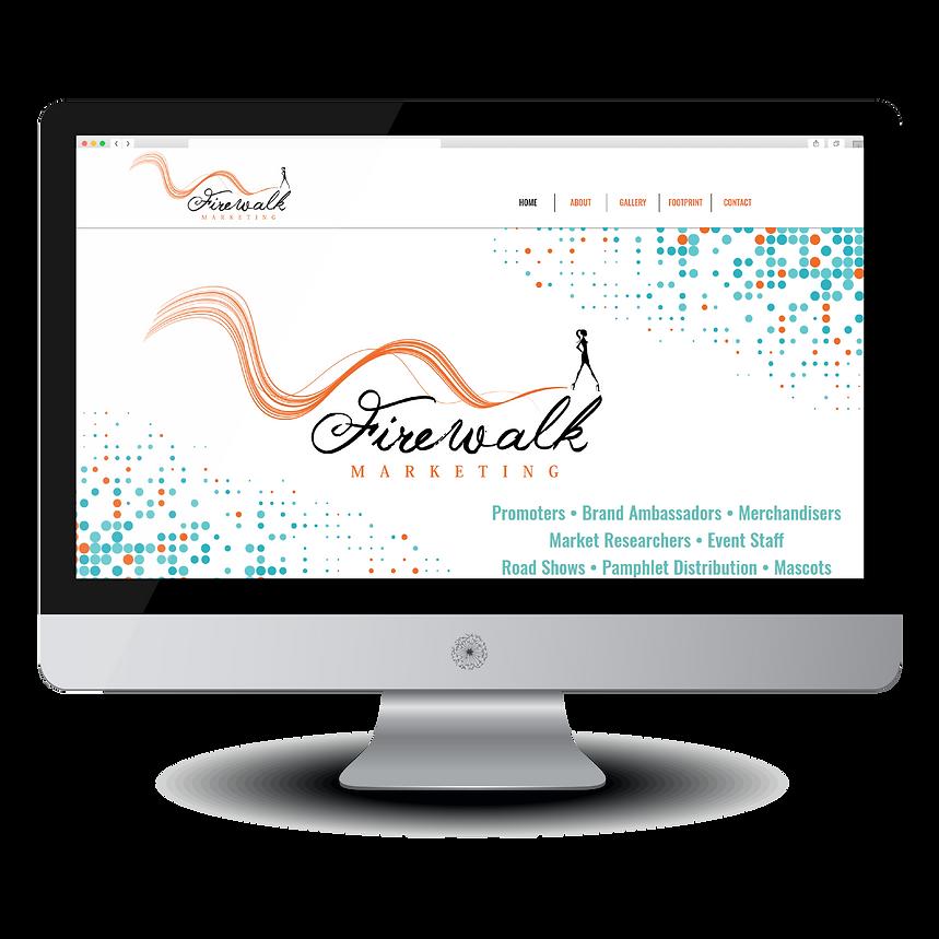 Firewalk Marketing Website Design