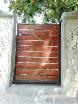 Small Outdoor Gate