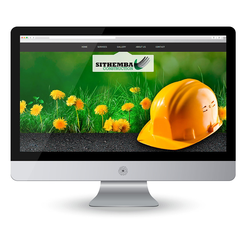 Sithemba Construction Website Design