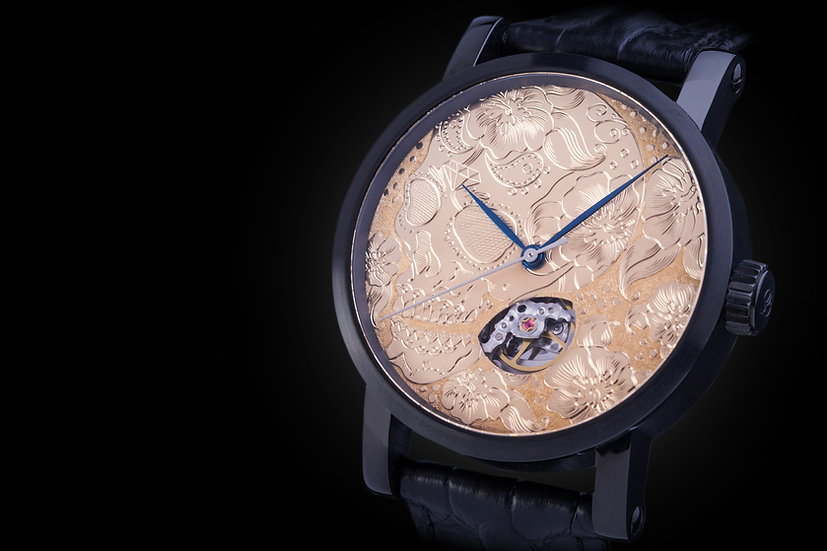 Eysink Watches Art Skull Gold