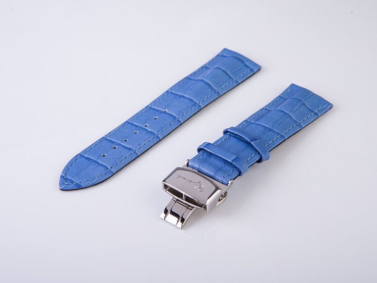 Alligator Light Blue Wrist Band (without buckle)