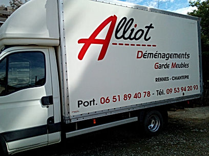 logo ALLIOT DEMENAGEMENTS