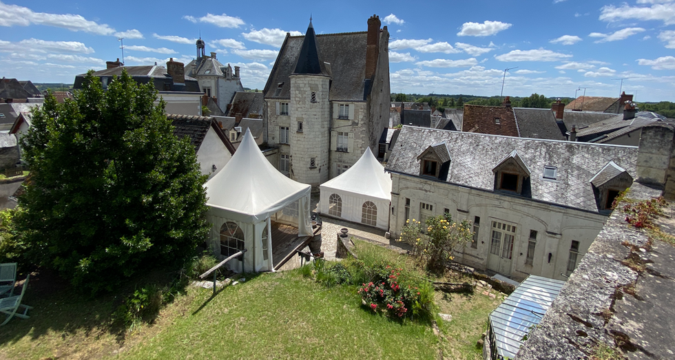 Château anniversaire mariage intime
