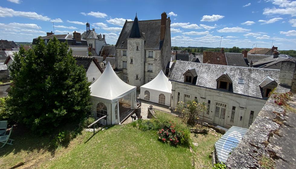 Vue panoramique Manoir du XVeme , La Chancellerie