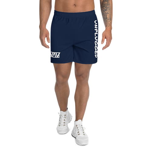Unplugged - Men's Athletic Long Shorts