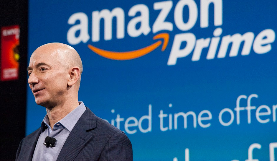 Jeff Bezos, CEO of Amazon.com, Inc.