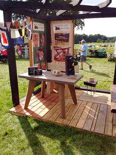 Show stand With Pergola