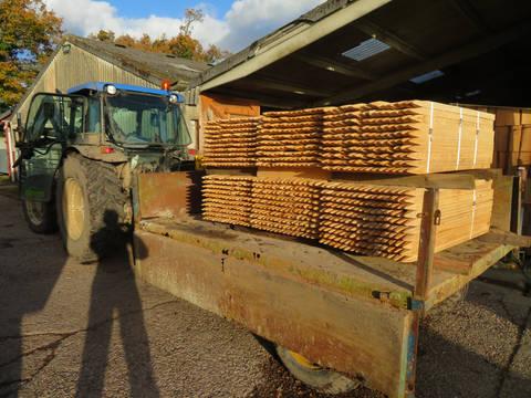Hardwood Tree Planting Stakes