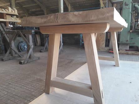 Medieval Oak Trestle Table