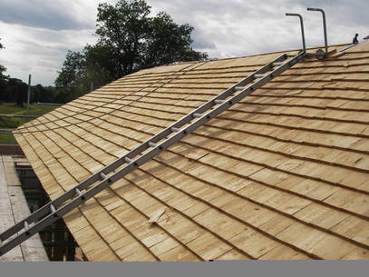 UK Grown Cedar Shingles