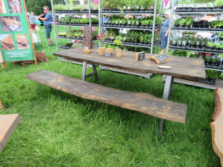 Weathered Pine Table