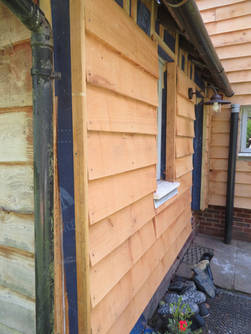 Oak Cladding From Customers' Trees