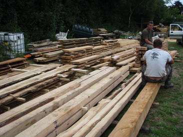 Site Sawmilling Output