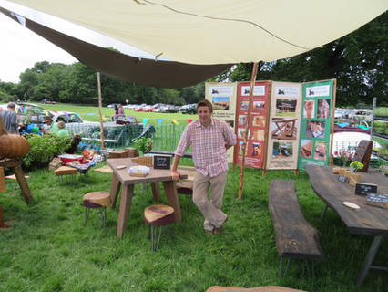 Products At The Floral Fringe Fair, West Sussex