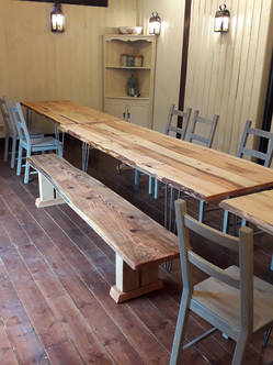 'Rustic Scaffold Board' Pub Furniture