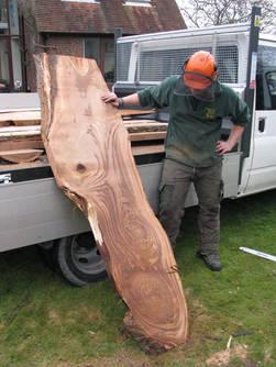 Beautiful Sweet Chestnut Plank