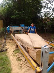 Wide Board Planking
