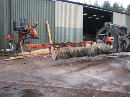 Contract Sawmilling