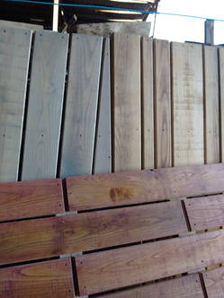 Hardwood Decking Samples