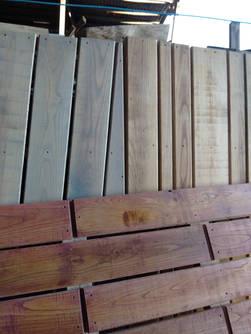 Hardwood Decking Samples