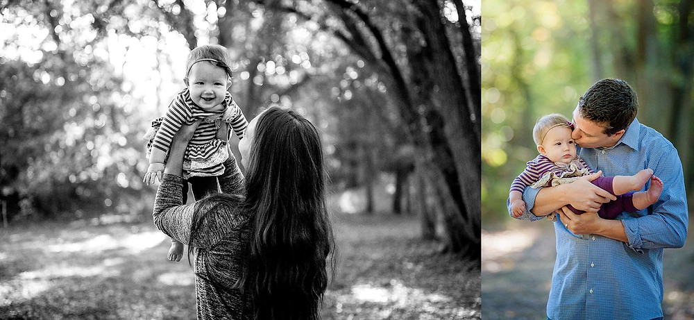 six month session, mom and baby, dad and baby, Grapevine Botanical Gardens, Grapevine photographer