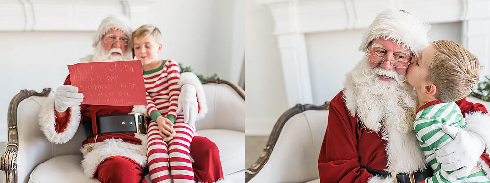 Colleyville Santa mini session