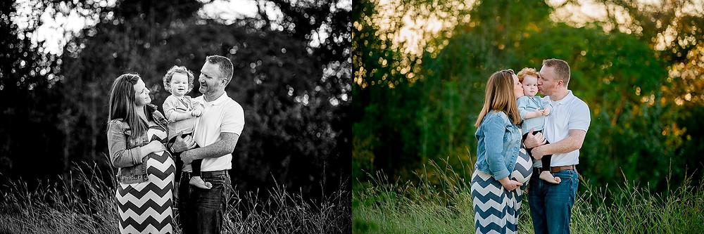 family and toddler, maternity, Fort Worth maternity, Fort Worth photographer, Northwest Park